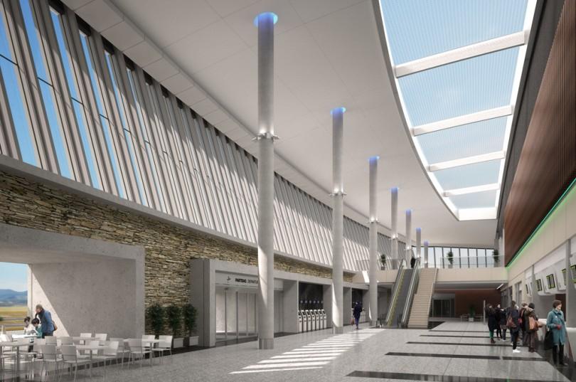 Maqueta Hall Aeropuerto