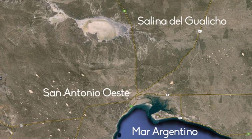 mapa gualicho