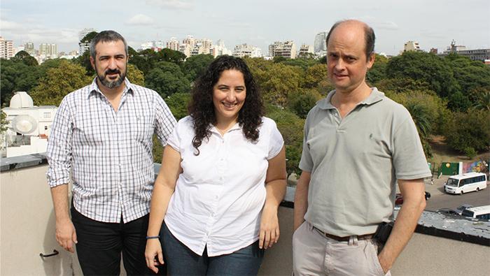 Científicos del Instituto Leloir