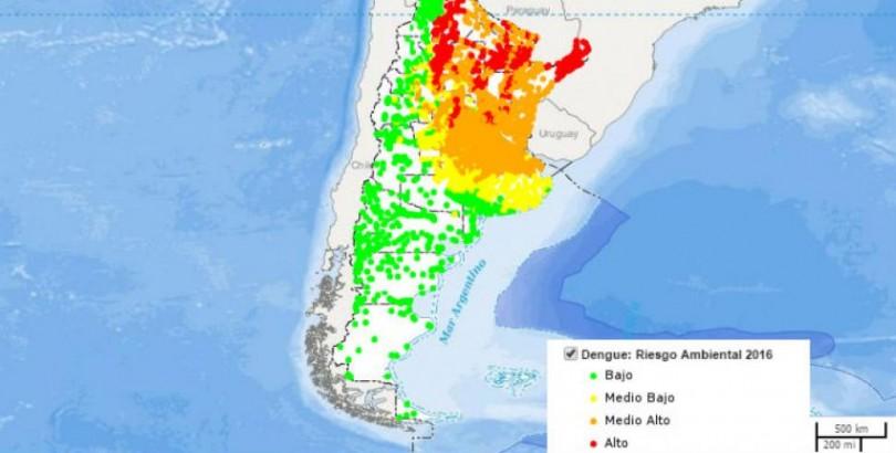 mapa alerta dengue 2016